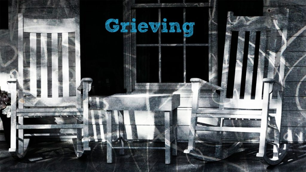 grieving over loss