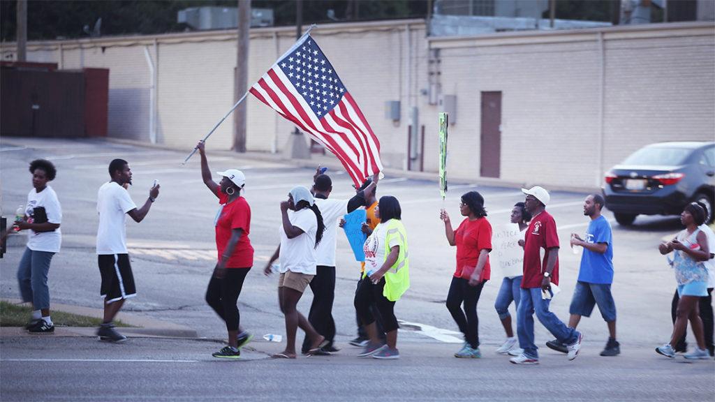 slaying racial strife racism