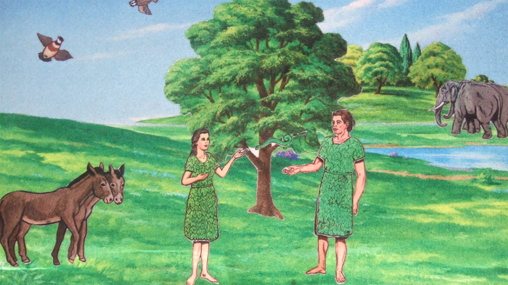 Adam and Eve Fig Leaves