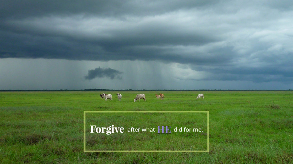 forgive after what he did for me eric weathers