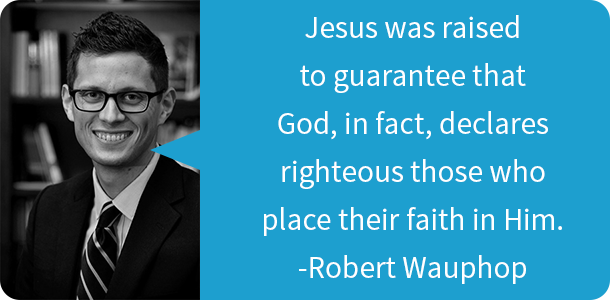 Robert Wauhop Glory Books Resurrection Quote