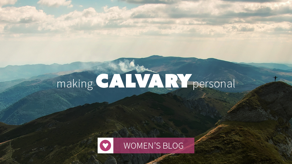 making calvary personal