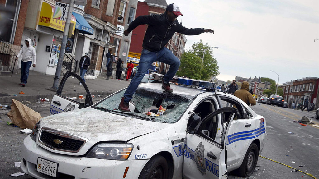 baltimore rioting