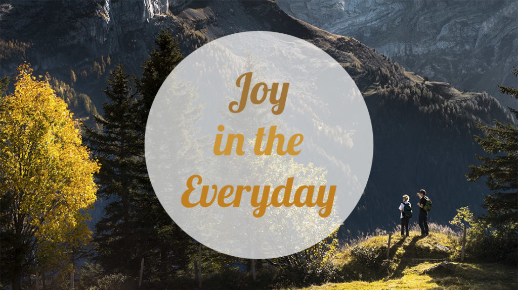Joy in the Everday
