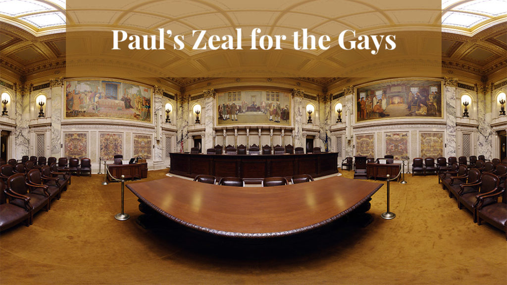 Paul's Compassionate Zeal for the Gays