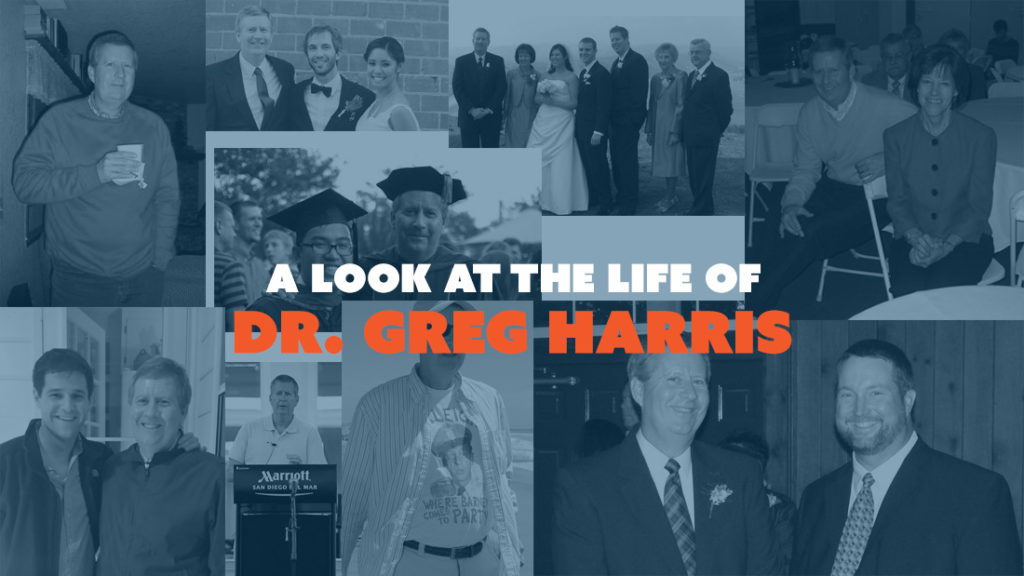 a look at the life of Dr. Greg Harris