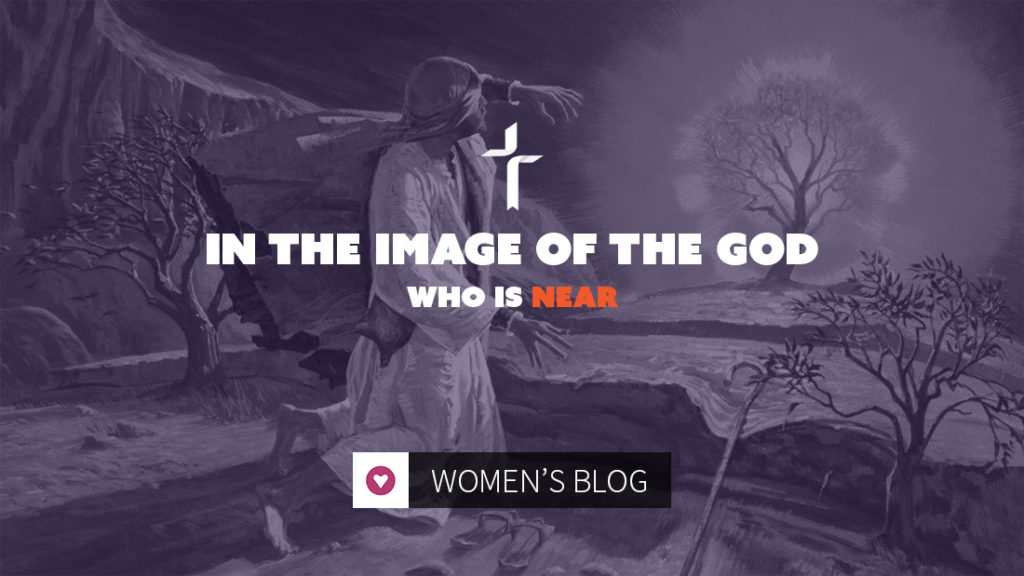 the image of the God who is near