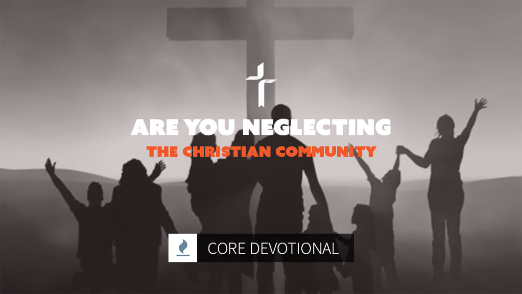 are you neglecting the Christian community?