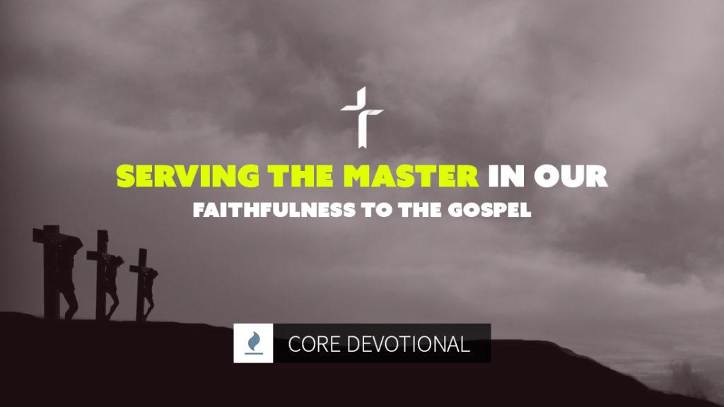 Serving the Master Gospel