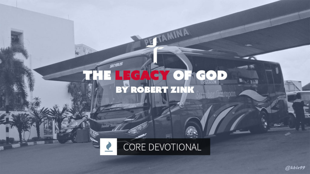 the legacy of God by Robert Zink