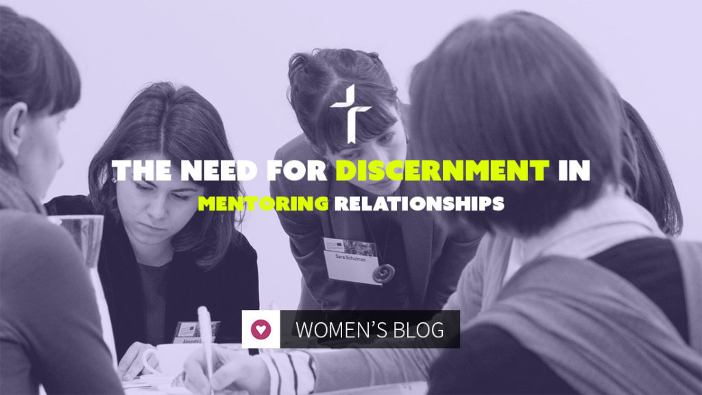 need for discernment in mentoring relationships
