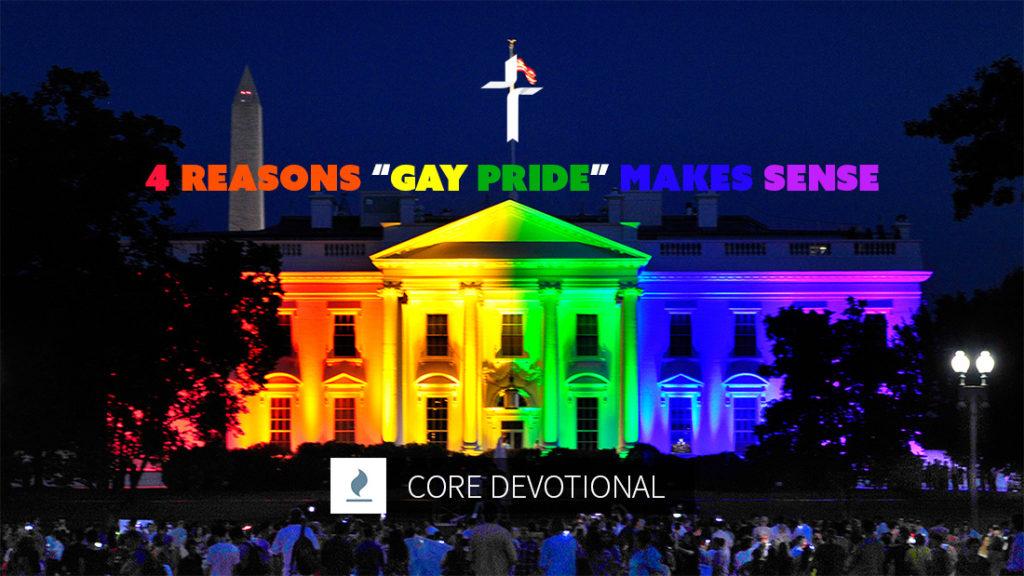 Reasons Gay Pride Makes Sense