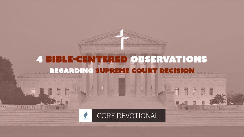 supreme court decision regarding gay marriage