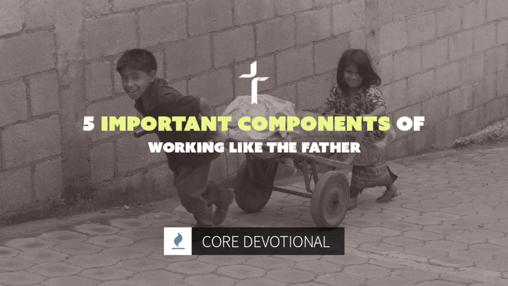 important components of working like the Father