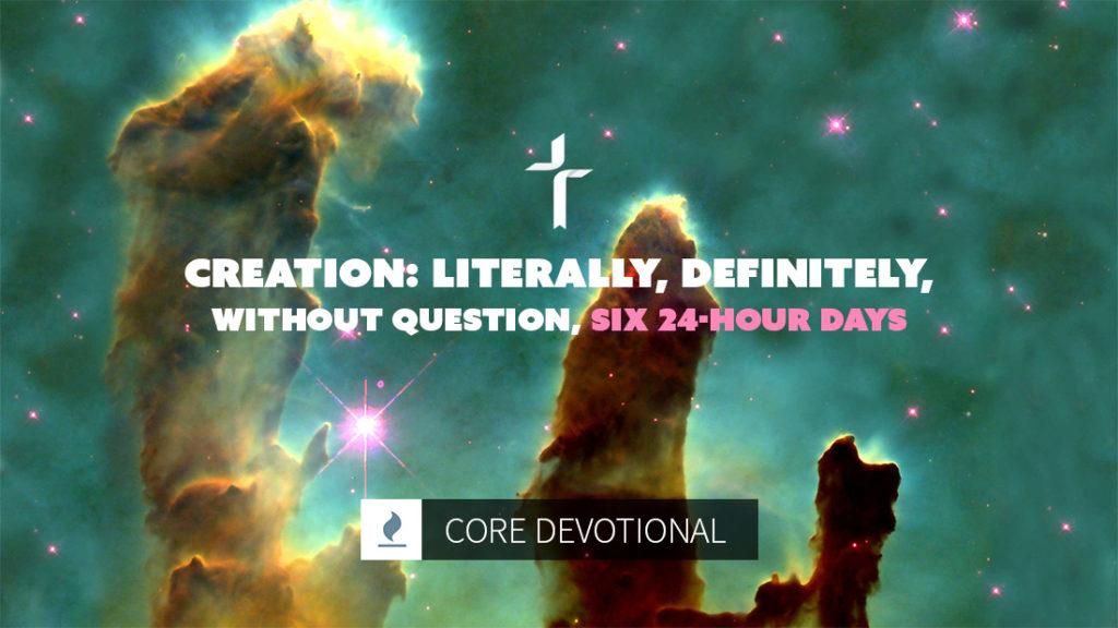 Creation six 24-hour days