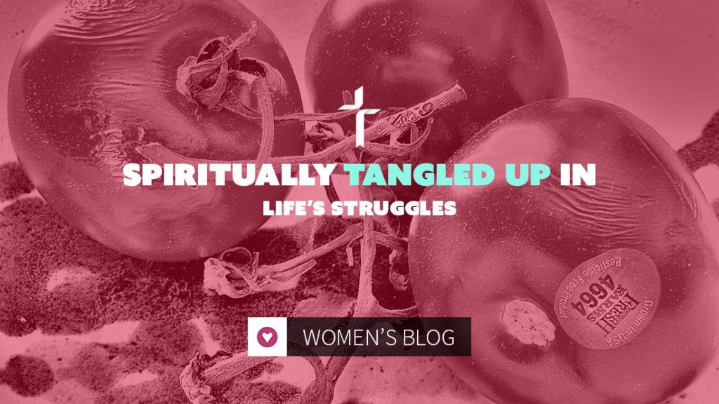 spiritually tangled up in life's struggles