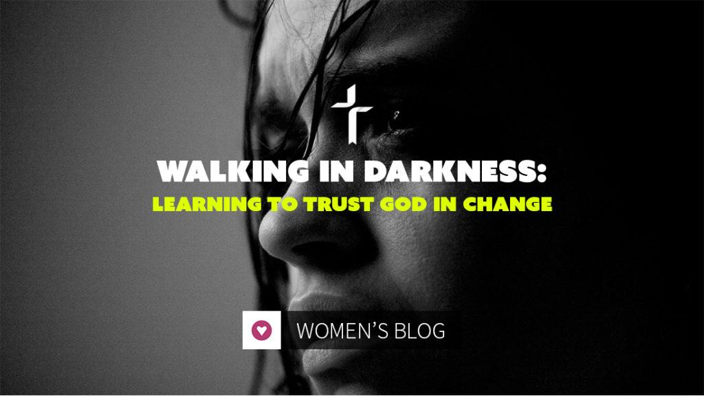 walking in darkness: trusting God