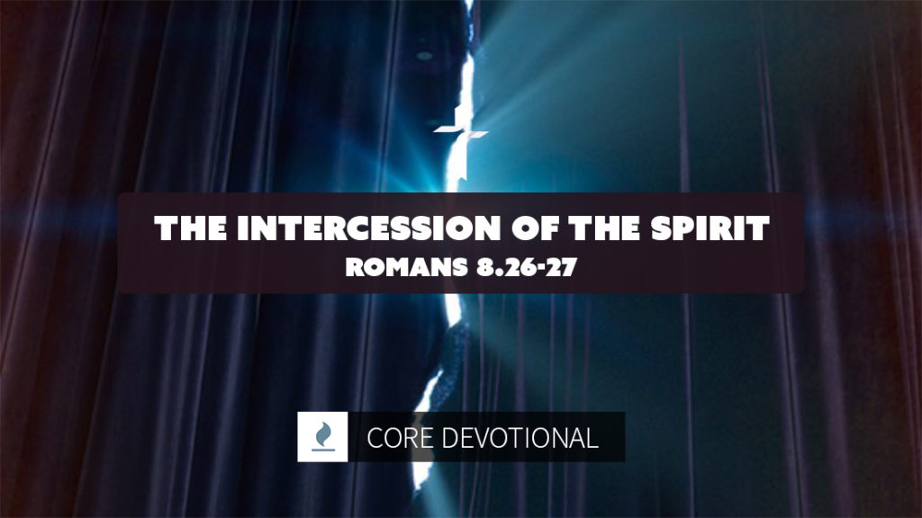 intercession of the Spirit