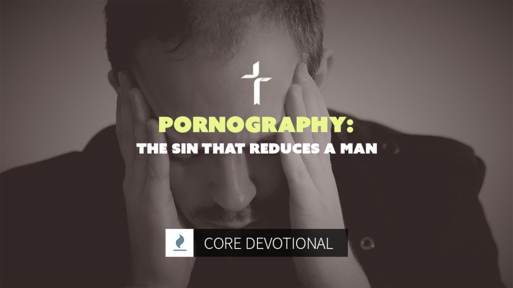 pornography: the sin that reduces a man