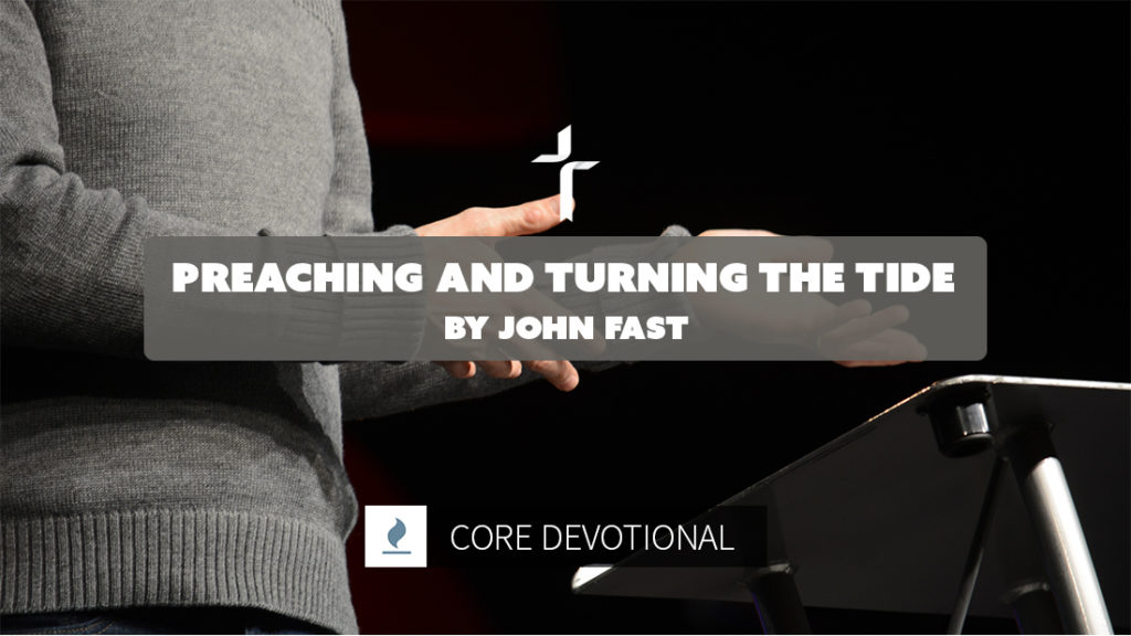 preaching and turning the tide