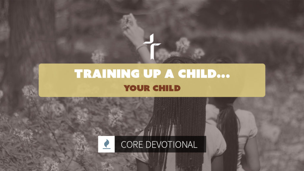 training up a child...your child