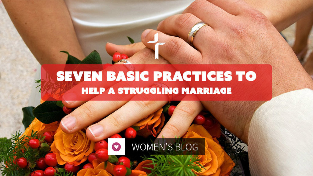 basic principles to help a struggling marriage