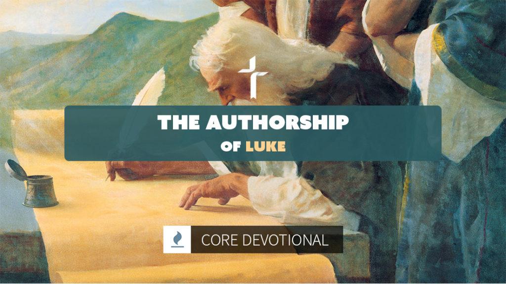 the authorship of luke