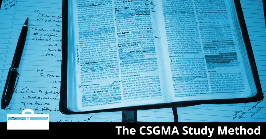 The CSGMA Study Method
