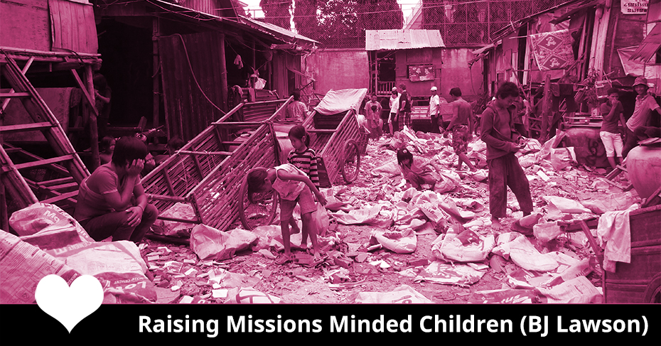 raising missions minded children