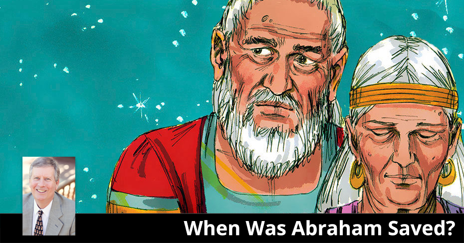 When was Abraham saved?